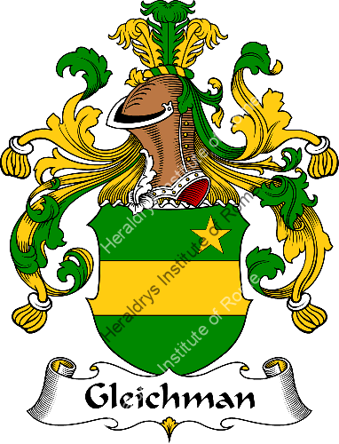 Coat of arms of family Gleichman - ref:30601