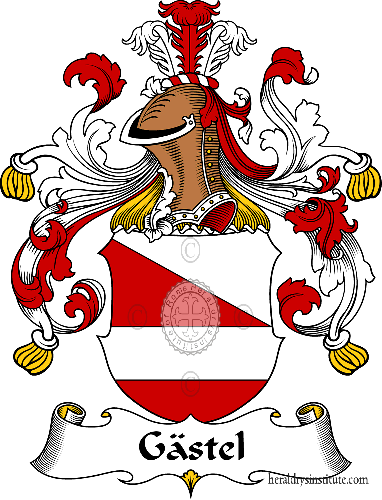 Coat of arms of family Gästel - ref:30612