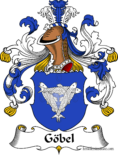 Coat of arms of family Göbel - ref:30613