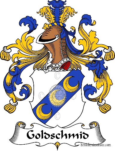 Coat of arms of family Goldschmid (t) - ref:30618