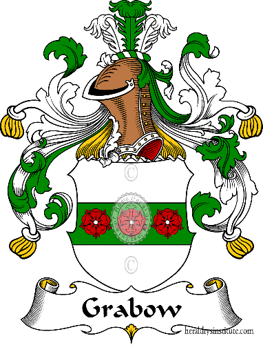 Coat of arms of family Grabow - ref:30634
