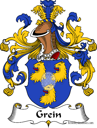 Coat of arms of family Grein - ref:30645