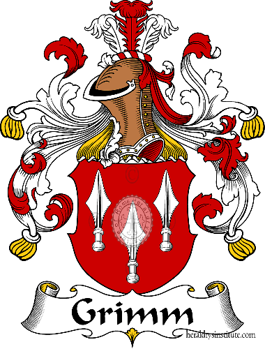 Coat of arms of family Grimm - ref:30652