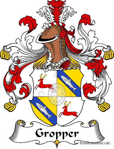 Coat of arms of family Gropper - ref:30657