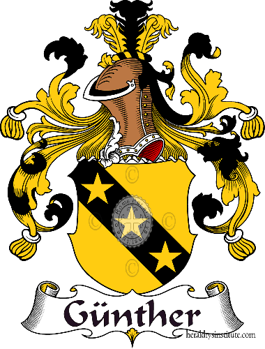Coat of arms of family Günther - ref:30691