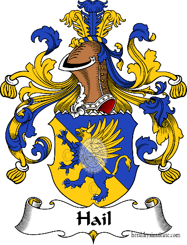 Coat of arms of family Hail - ref:30719