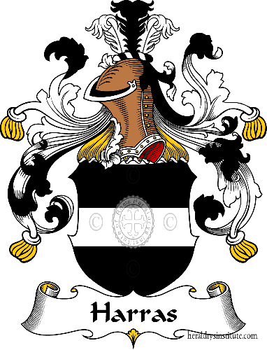 Coat of arms of family Harras - ref:30747