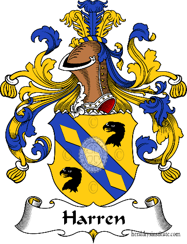 Coat of arms of family Harren - ref:30748