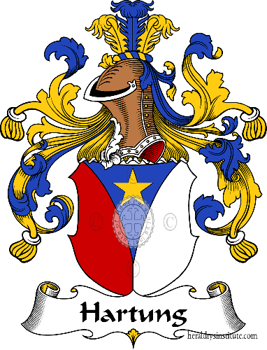 Coat of arms of family Hartung - ref:30754