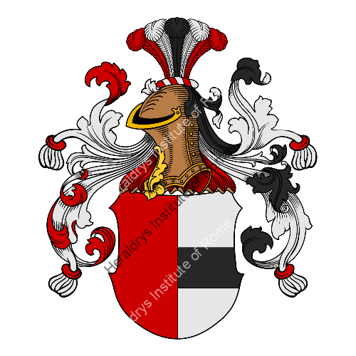 Coat of arms of family Häusler - ref:30787