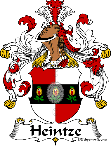 Coat of arms of family Heintze - ref:30821
