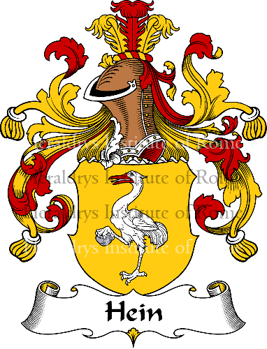 Coat of arms of family Hein - ref:30823