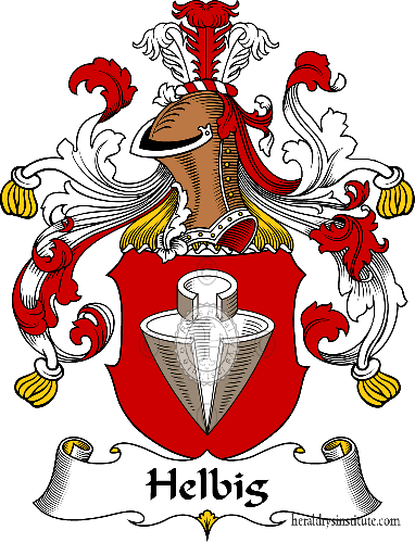 Coat of arms of family Helbig - ref:30825