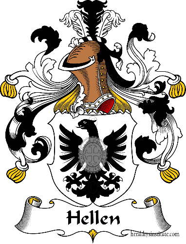 Coat of arms of family Hellen - ref:30828