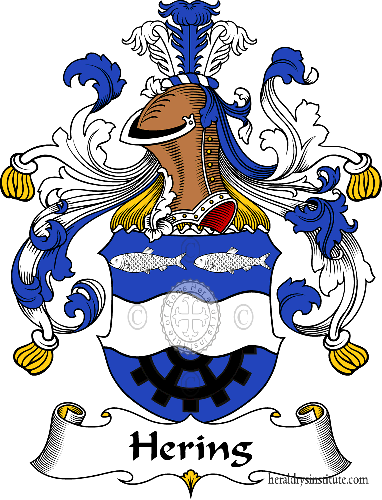 Coat of arms of family Hering - ref:30851