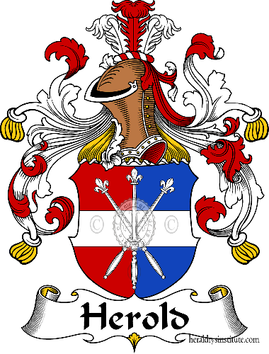 Coat of arms of family Herold - ref:30854