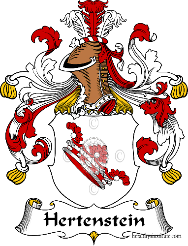 Coat of arms of family Hertenstein - ref:30857