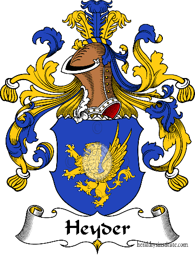 Coat of arms of family Heyder - ref:30875