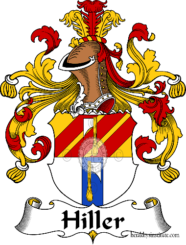 Coat of arms of family Hiller - ref:30888