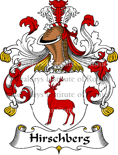 Coat of arms of family Hirschberg - ref:30893