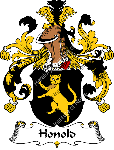 Coat of arms of family Honold - ref:30928
