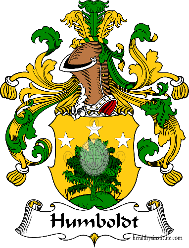 Coat of arms of family Humboldt - ref:30951