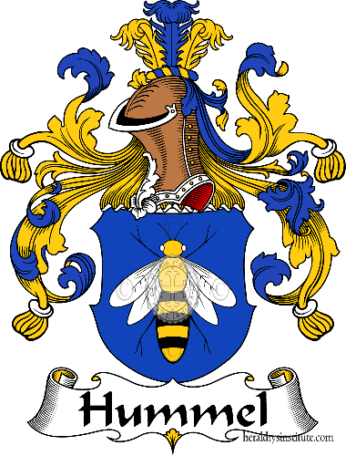 Coat of arms of family Hummel - ref:30952