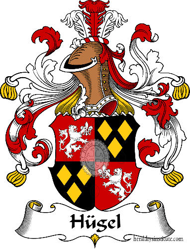 Coat of arms of family Hügel - ref:30965