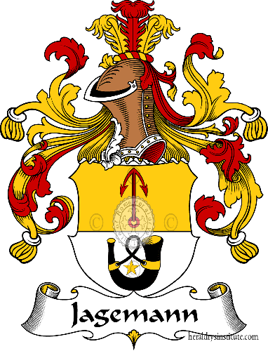 Coat of arms of family Jagemann - ref:30978