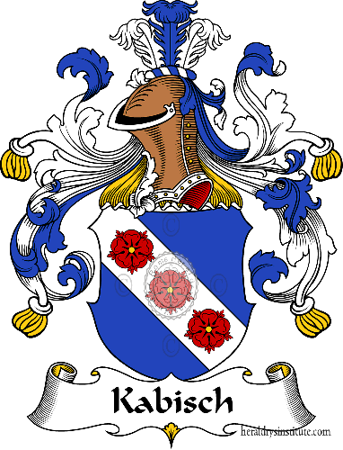 Coat of arms of family Kabisch - ref:30996