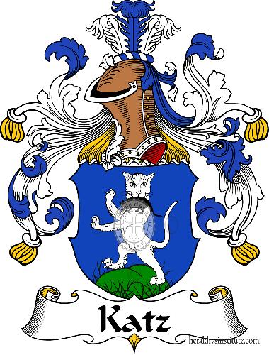 Coat of arms of family Katz - ref:31024