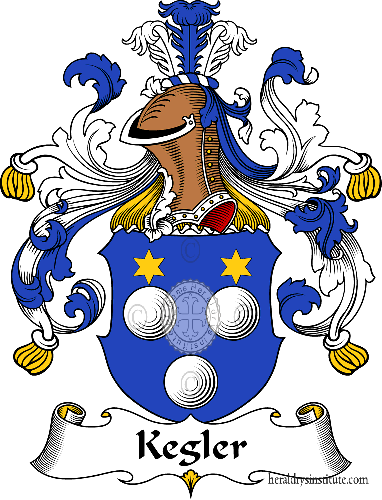 Coat of arms of family Kegler - ref:31032