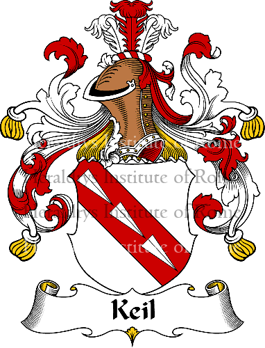 Coat of arms of family Keil - ref:31033
