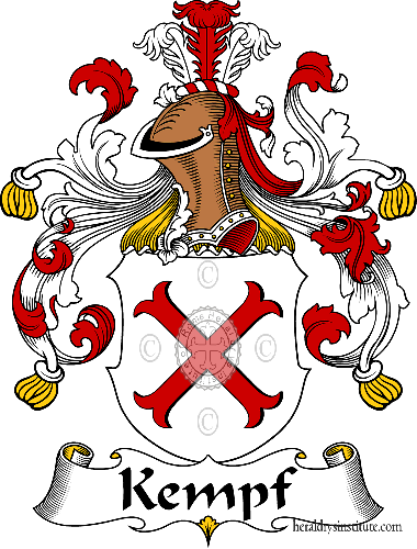Coat of arms of family Kempf - ref:31041