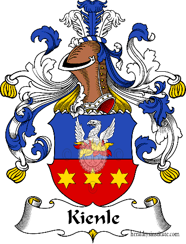 Coat of arms of family Kienle - ref:31061