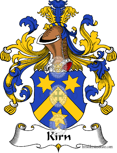 Coat of arms of family Kirn - ref:31071