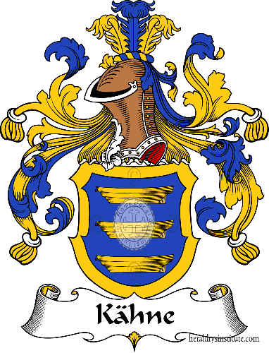 Coat of arms of family Kähne - ref:31089