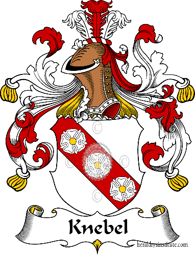 Coat of arms of family Knebel - ref:31094
