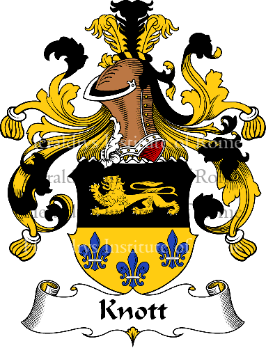 Coat of arms of family Knott - ref:31100