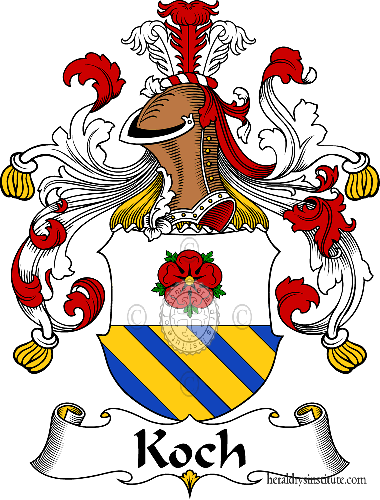 Coat of arms of family Koch - ref:31103