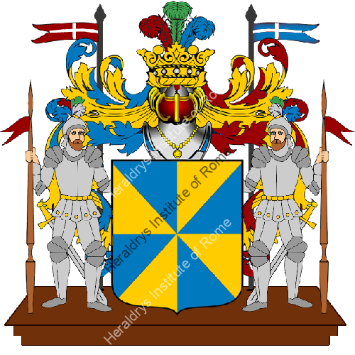 Coat of Arms of family Pittana