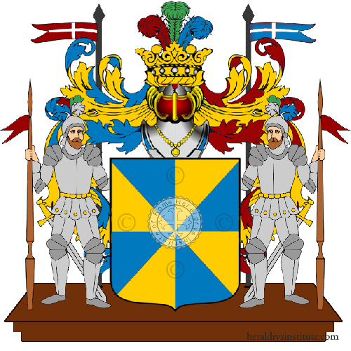Coat of Arms of family Pitte