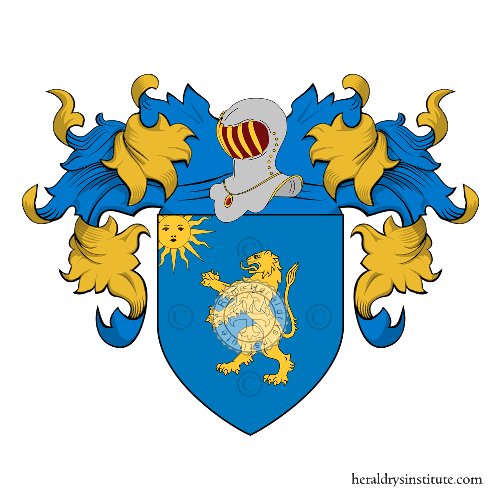 Coat of Arms of family Desimone