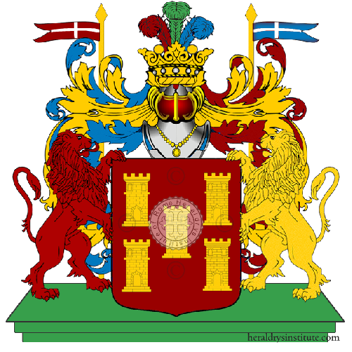 Coat of Arms of family Ponzana