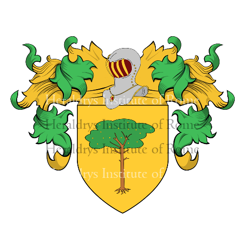 Coat of Arms of family Vecchieschi