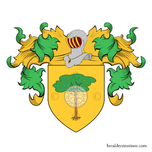 Coat of Arms of family Vecchiola