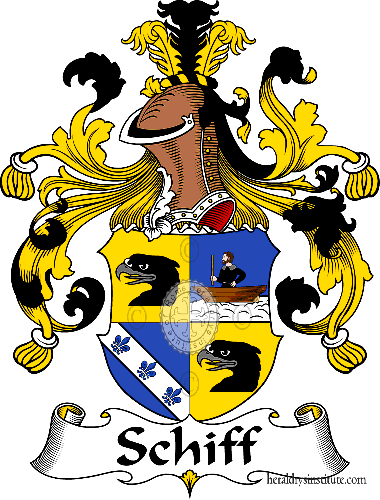 Coat of arms of family Schiff