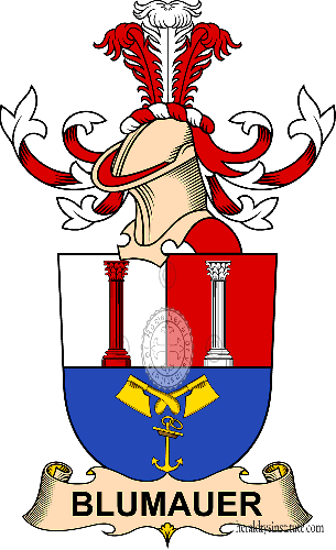 Coat of arms of family Blumauer