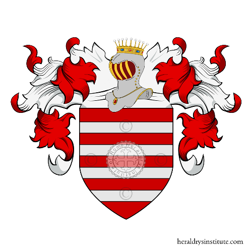 Coat of Arms of family Sannibali