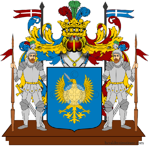 Coat of Arms of family La Penna